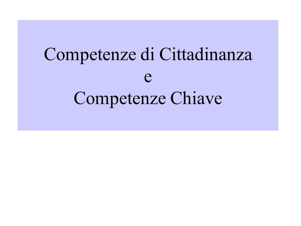 Competenze di Cittadinanza e Competenze Chiave