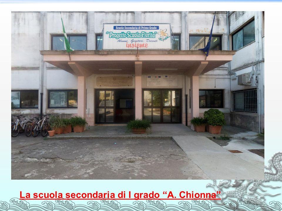 La scuola secondaria di I grado A. Chionna