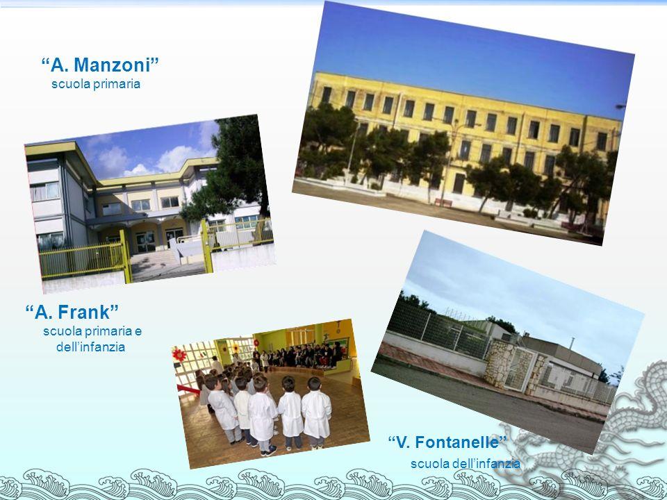 A. Manzoni scuola primaria A. Frank scuola primaria e dellinfanzia V. Fontanelle scuola dellinfanzia