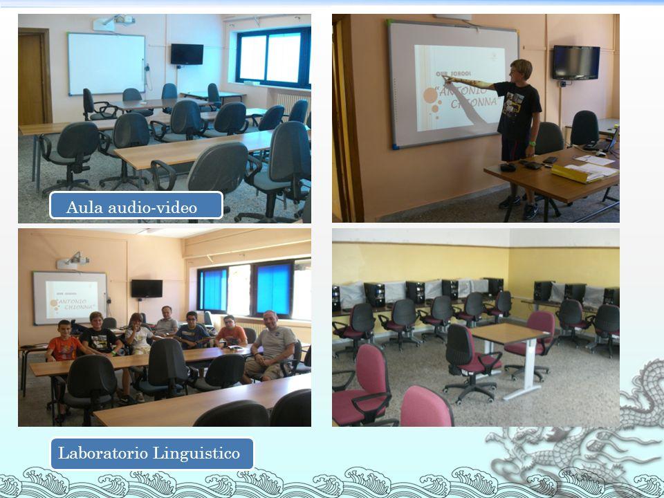 Laboratorio Linguistico Aula audio-video