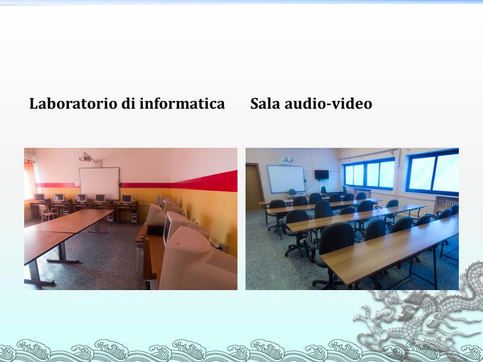 Laboratorio di informaticaSala audio-video