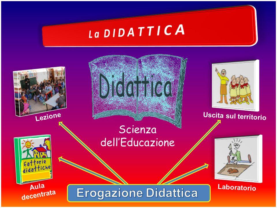 Scienza dellEducazione Lezione Aula decentrata Laboratorio Uscita sul territorio