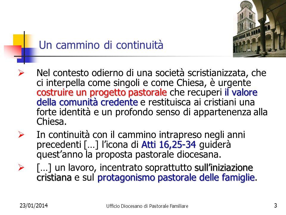 23/01/2014 Ufficio Diocesano di Pastorale Familiare 24 Il VANGELO DELLA VITA 11.