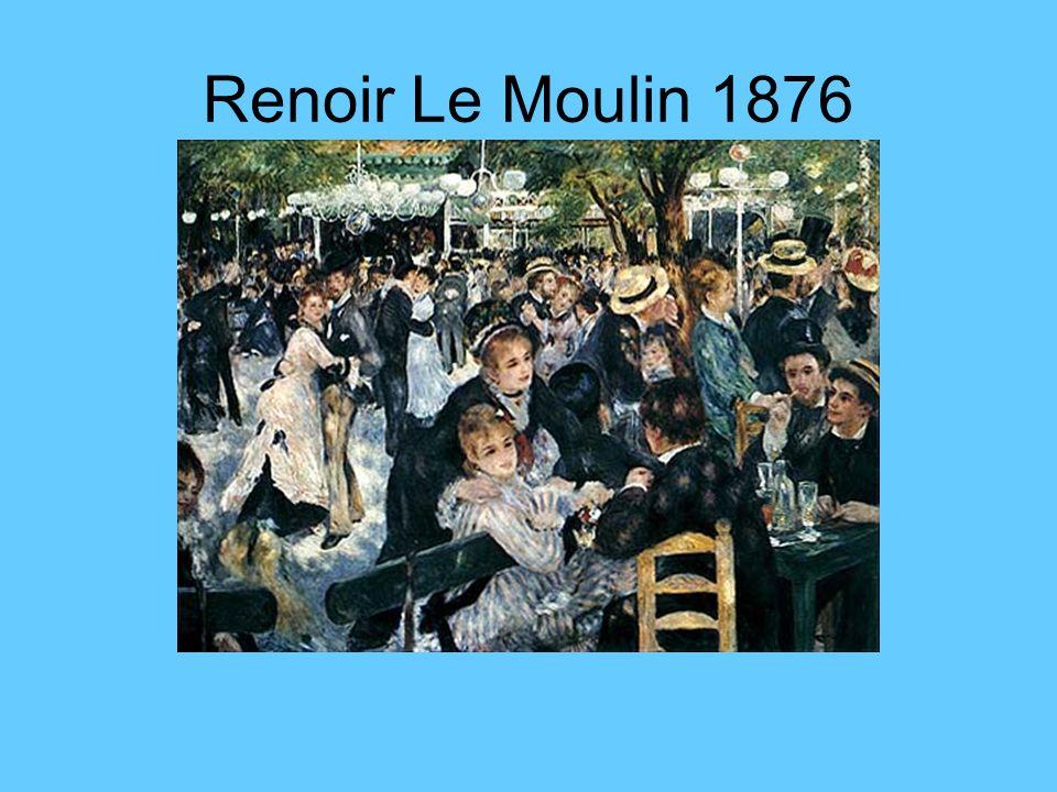 Der Impressionismus 1869 ( Maler: Degas, Monet, Renoir u.s.w) ( Komponist: Debussy ) Der Akzent fällt hier auf die Subjektivierung der Wirklichkeit.