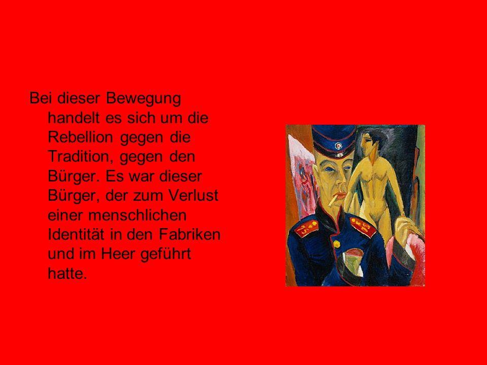 Si congiunge tematicamente a questa composizione la poesia dal titolo Kleine Aster Piccolo aster, entrambe parte del ciclo Morgue ( 1912).Già dal primo verso il poeta agghiaccia il lettore con la sua scabra e sbrigativa incisività.