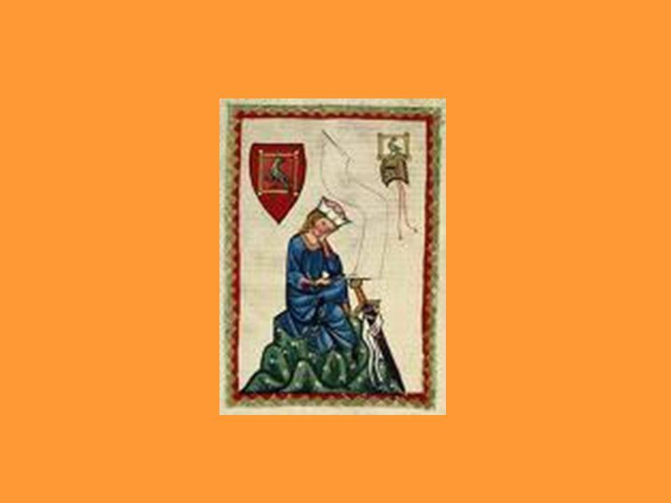 Walther von der Vogelweide (1170-1230) Er war der grösste Minnesänger.