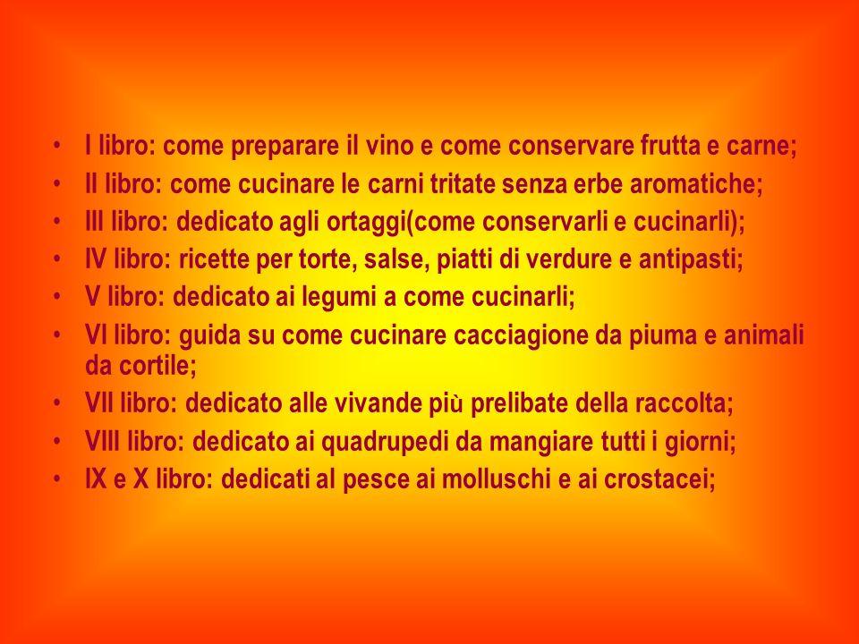 Il nome di Apicio è da sempre legato alla gastronomia tipica dellepoca romana.