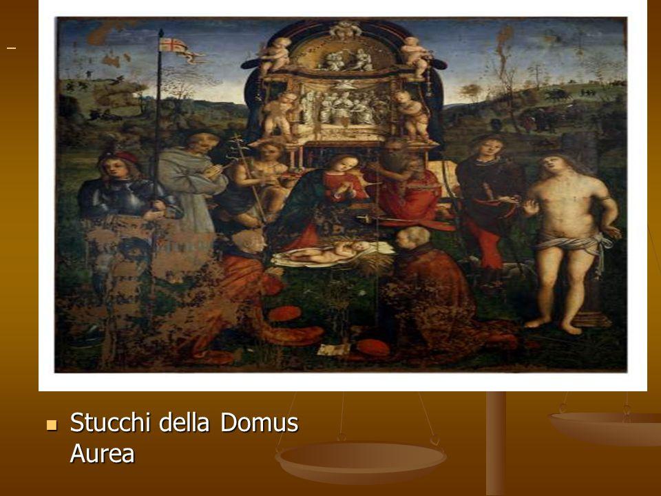 Stucchi della Domus Aurea Stucchi della Domus Aurea