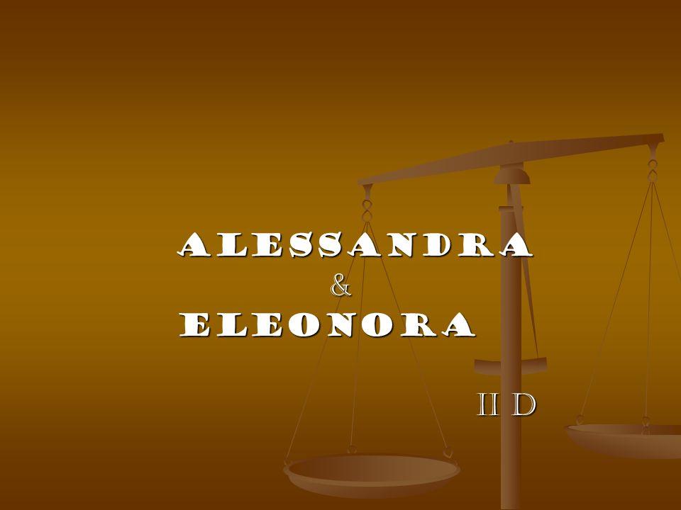Alessandra Alessandra & Eleonora Eleonora II D II D
