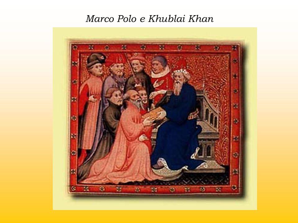 Marco Polo e Khublai Khan