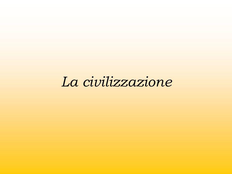 La civilizzazione