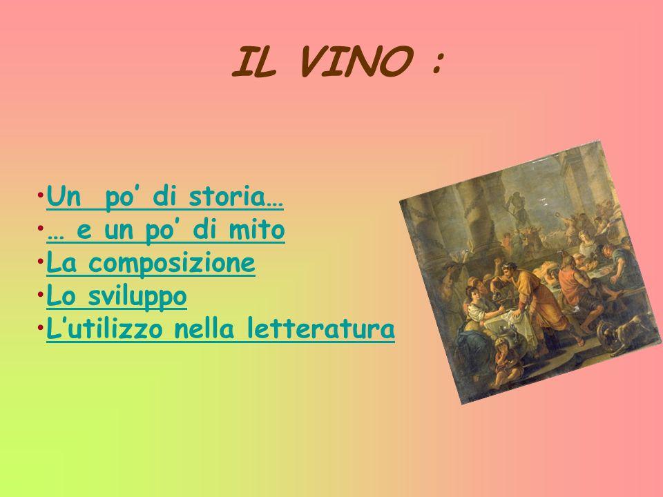 Un po di storia … I Romani, appresero le tecniche vitivinicole dagli etruschi, nei loro rapporti politici e commerciali.
