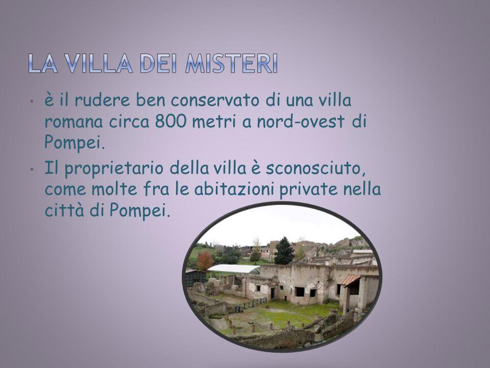 è il rudere ben conservato di una villa romana circa 800 metri a nord-ovest di Pompei. Il proprietario della villa è sconosciuto, come molte fra le ab
