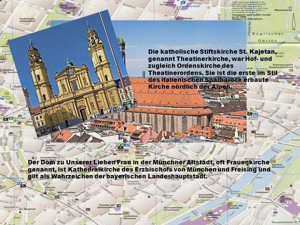 Der Dom zu Unserer Lieben Frau in der Münchner Altstadt, oft Frauenkirche genannt, ist Kathedralkirche des Erzbischofs von München und Freising und gilt als Wahrzeichen der bayerischen Landeshauptstadt.