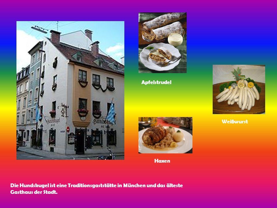 Die Hundskugel ist eine Traditionsgaststätte in München und das älteste Gasthaus der Stadt.