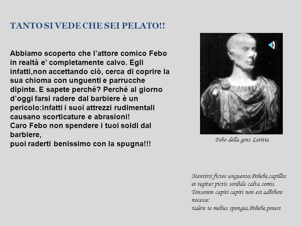 Lei famosa attrice di arte drammatica,lui famoso magistrato e amico intimo di Cicerone…di chi stiamo parlando?Ma si,della famosa coppia Licinia della