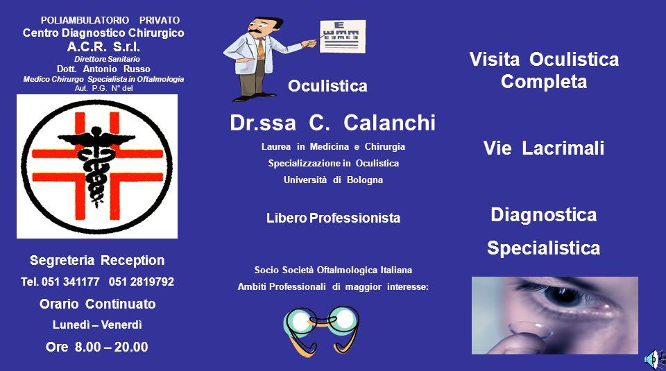 Dermatologia Dr.ssa A.M.