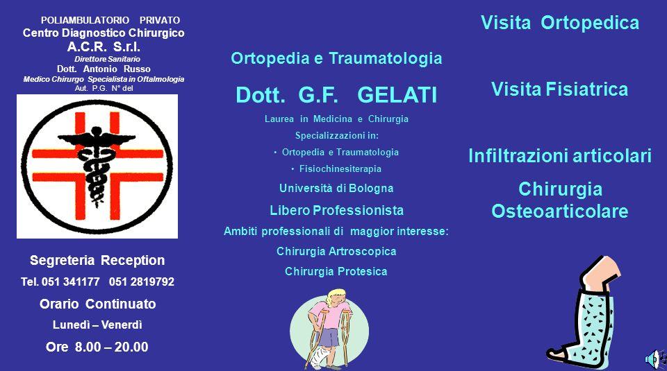 Ortopedia e Traumatologia Dott.G.F.