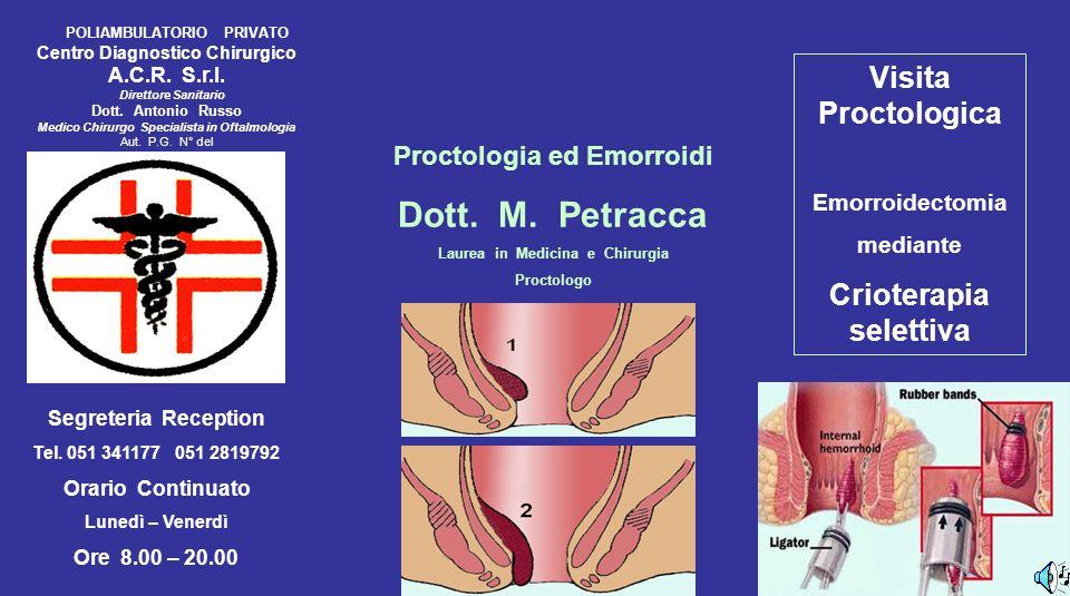 POLIAMBULATORIO PRIVATO Centro Diagnostico Chirurgico A.C.R.