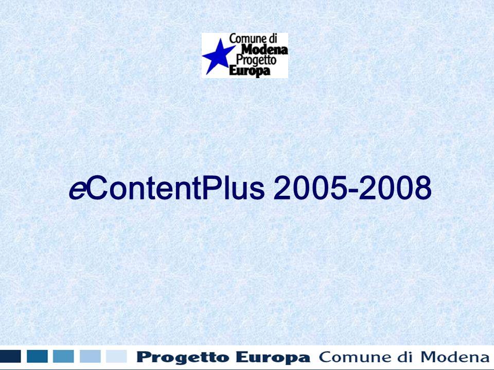 eContentPlus 2005-2008