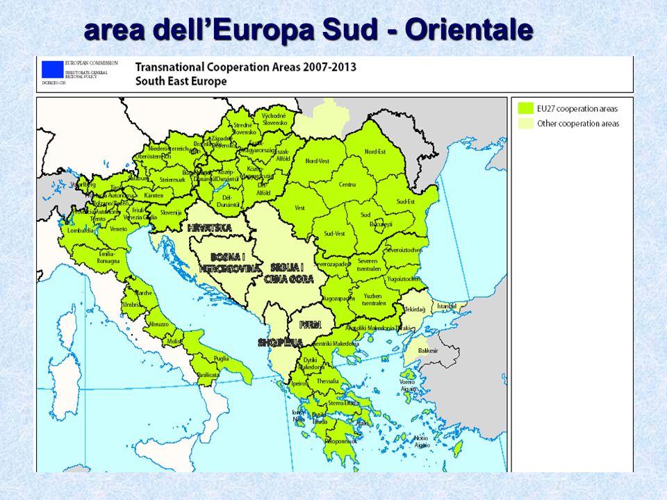 area dellEuropa Sud - Orientale