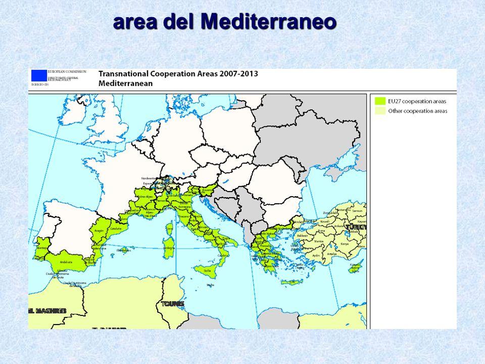 area del Mediterraneo