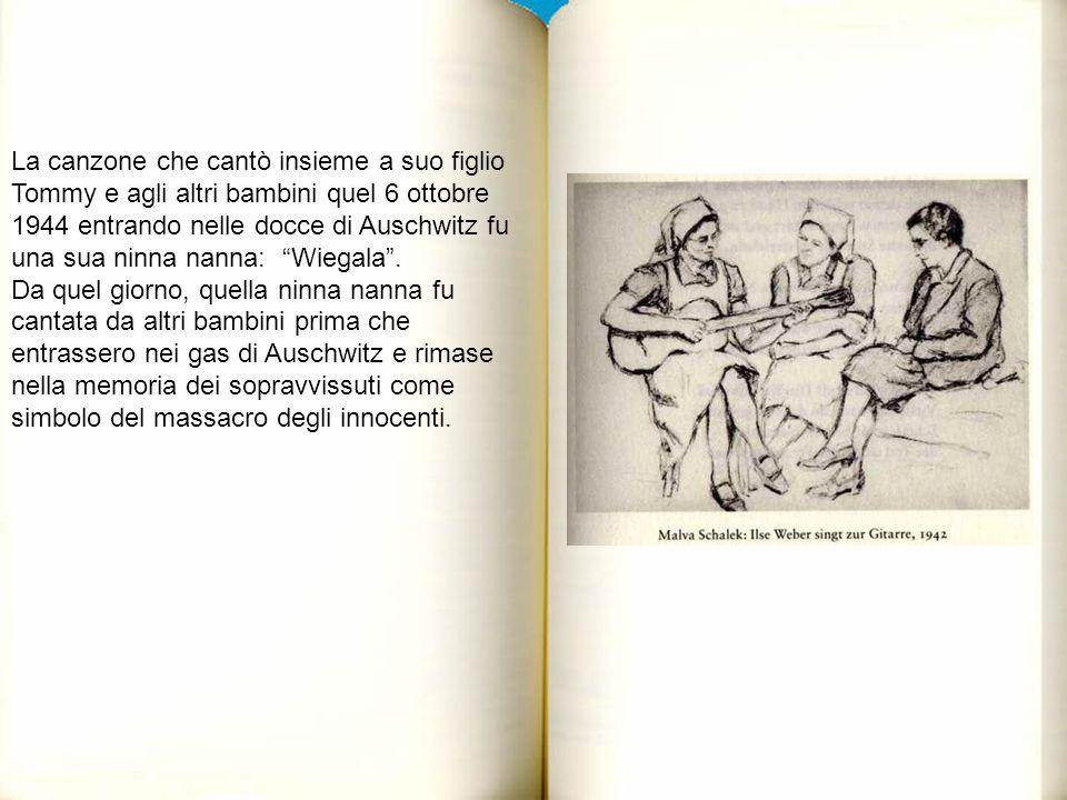 ALCUNE LETTERE, PENSIERI, RIFLESSIONI DEI NOSTRI ALUNNI INDIRIZZATE AL FIGLIO DI ILSE WEBER IN ITALIANO CON TRADUZIONE TEDESCA Caro Sig.