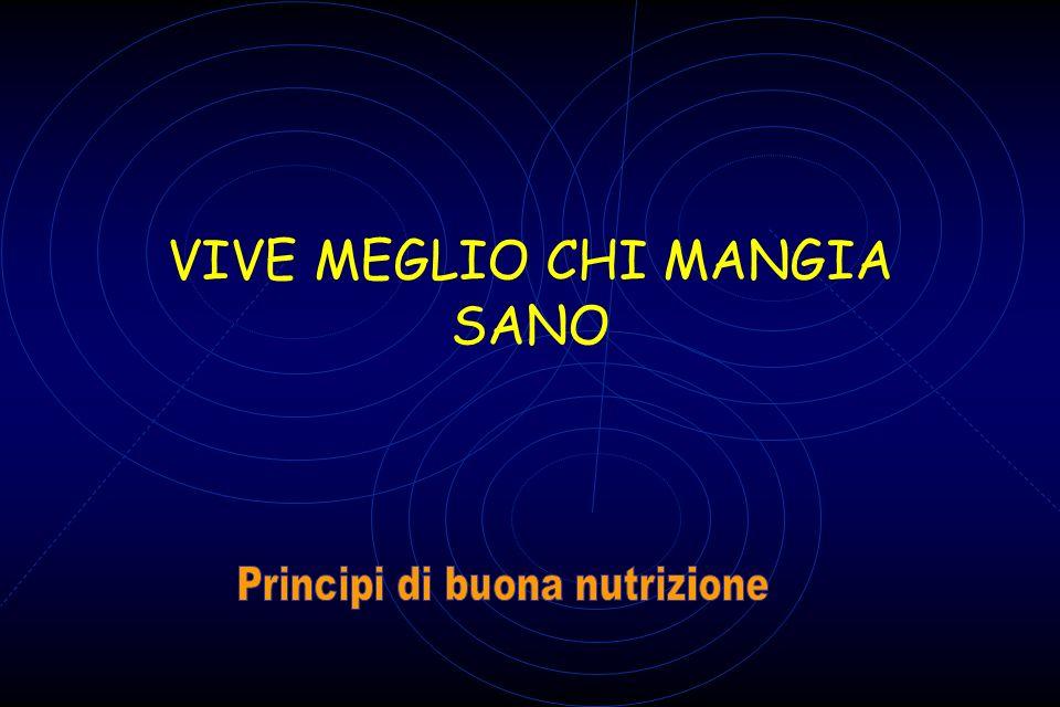 VIVE MEGLIO CHI MANGIA SANO