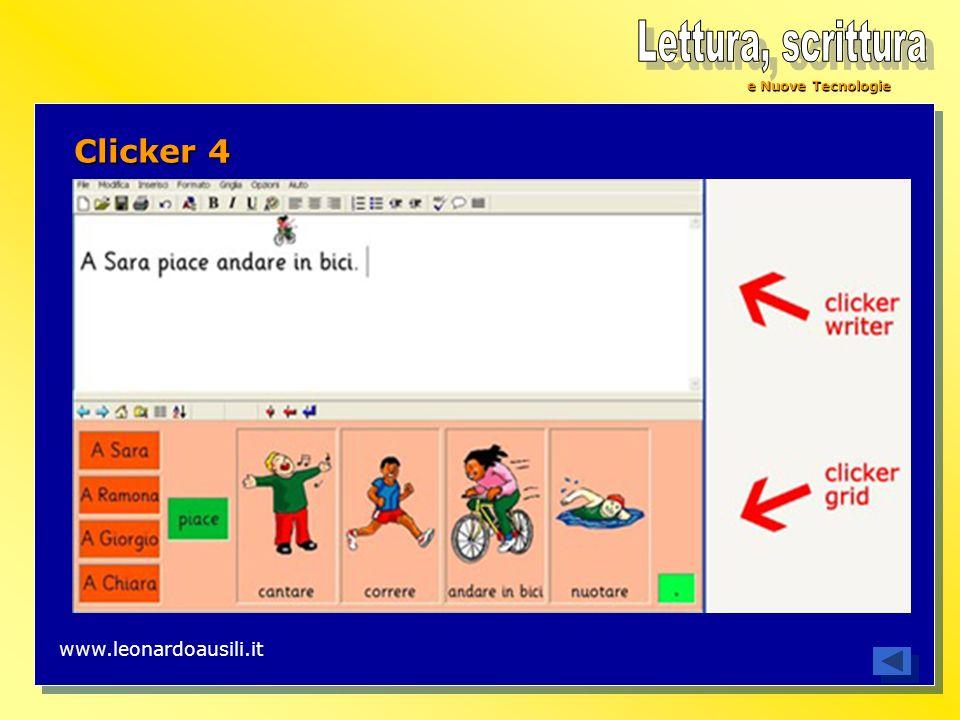 e Nuove Tecnologie Clicker 4 www.leonardoausili.it