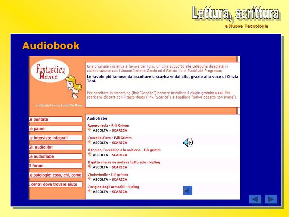 e Nuove Tecnologie Audiobook