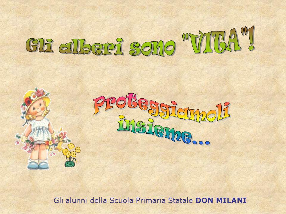 Gli alunni della Scuola Primaria Statale DON MILANI