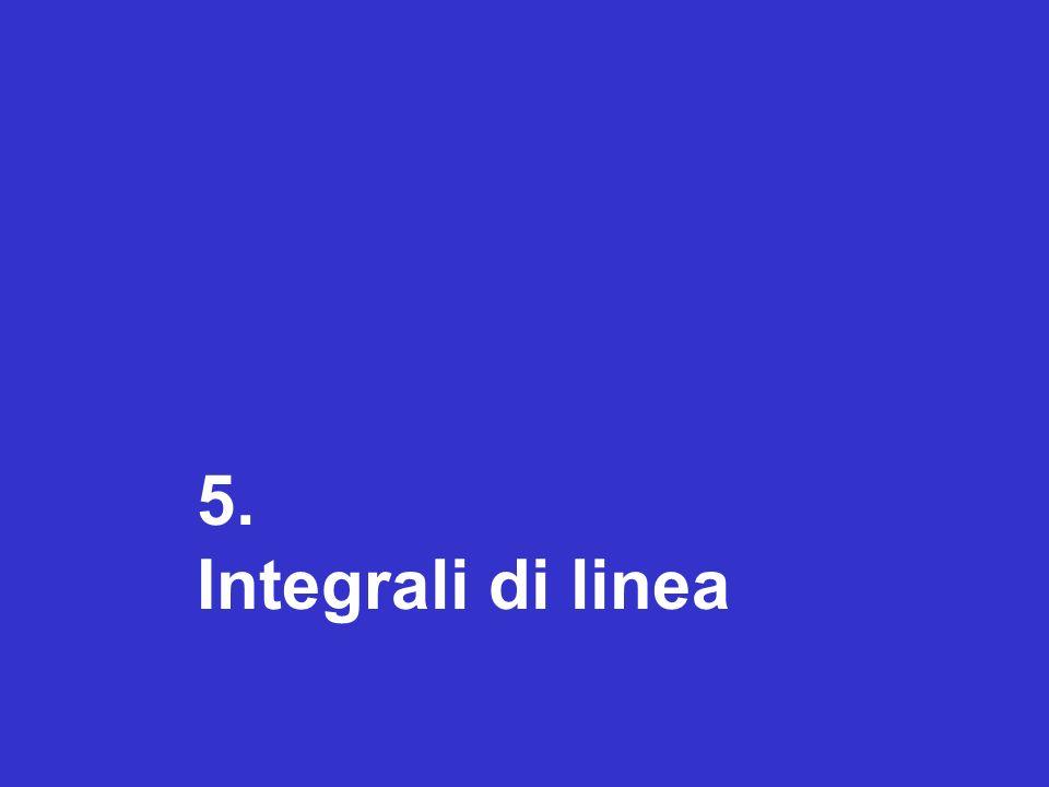 5. Integrali di linea