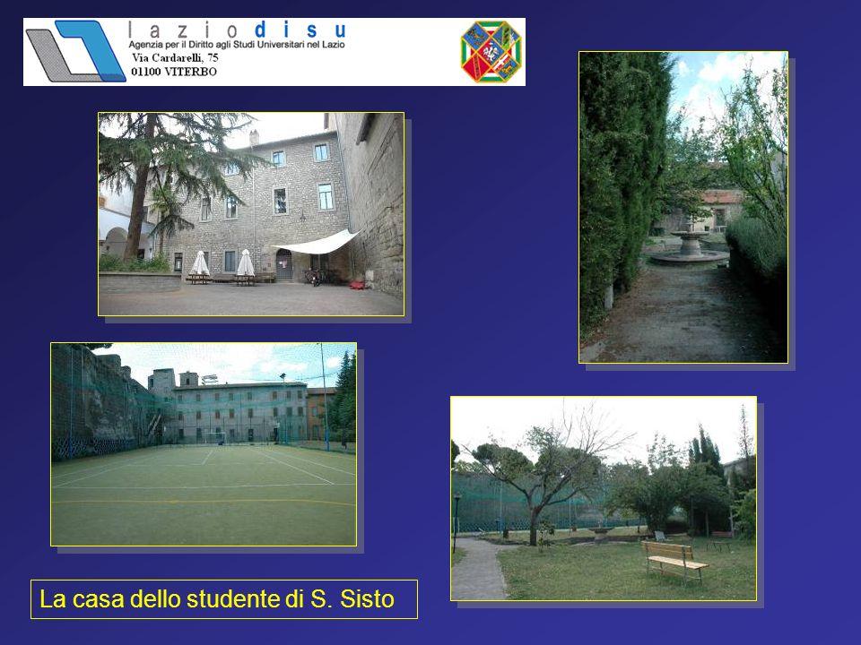 - Uffici di Laziodisu Viterbo via Cardarelli 75 (LU-VE) 0761 270610-611 * anche per visitare le residenze Per informazioni