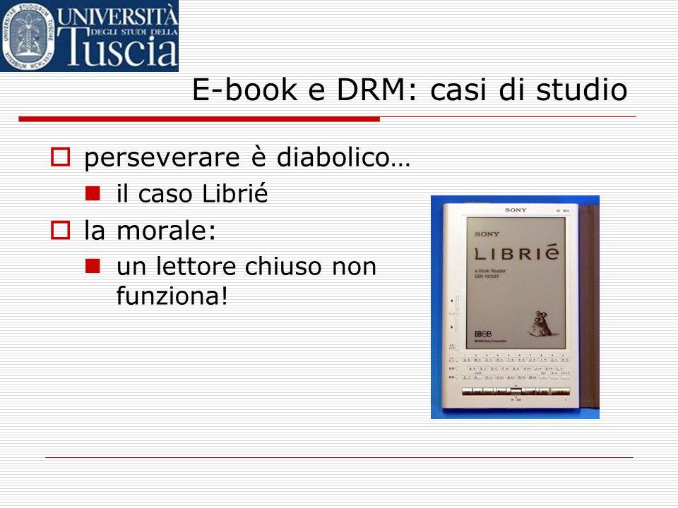 E-book e DRM: casi di studio il REB1200: una storia istruttiva Date: Mon, 23 May 2005 23:01:27 -0000 From: