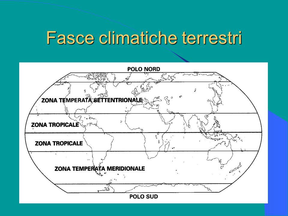 Fasce climatiche terrestri