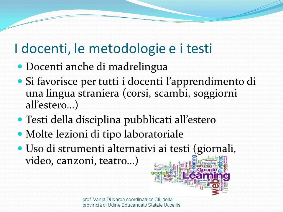 Dimensione plurilinge Insegnamento Clil apre a metodologie eterogenee Apre ad utenza eterogenea: vengono facilitati studenti di varie origini linguist