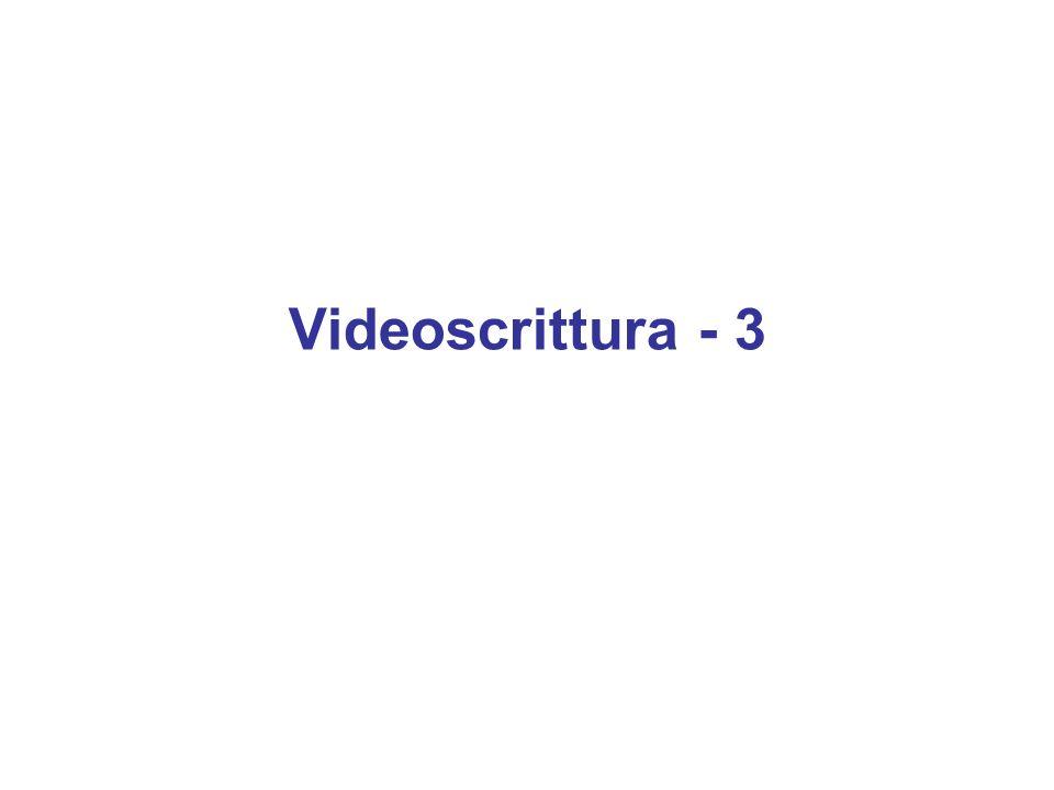 Videoscrittura - 3