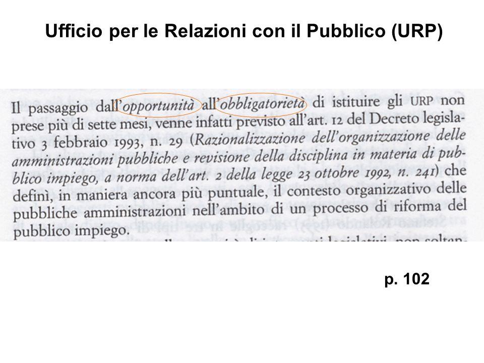 Quali amministrazioni pubbliche.(Art. 1, d.l. 29/1993) p.