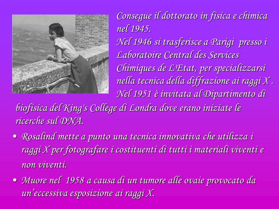 Gli Studi Nel 1942 andò a lavorare presso lAssociazione Britannica di Ricerca per lutilizzazione del Carbone.