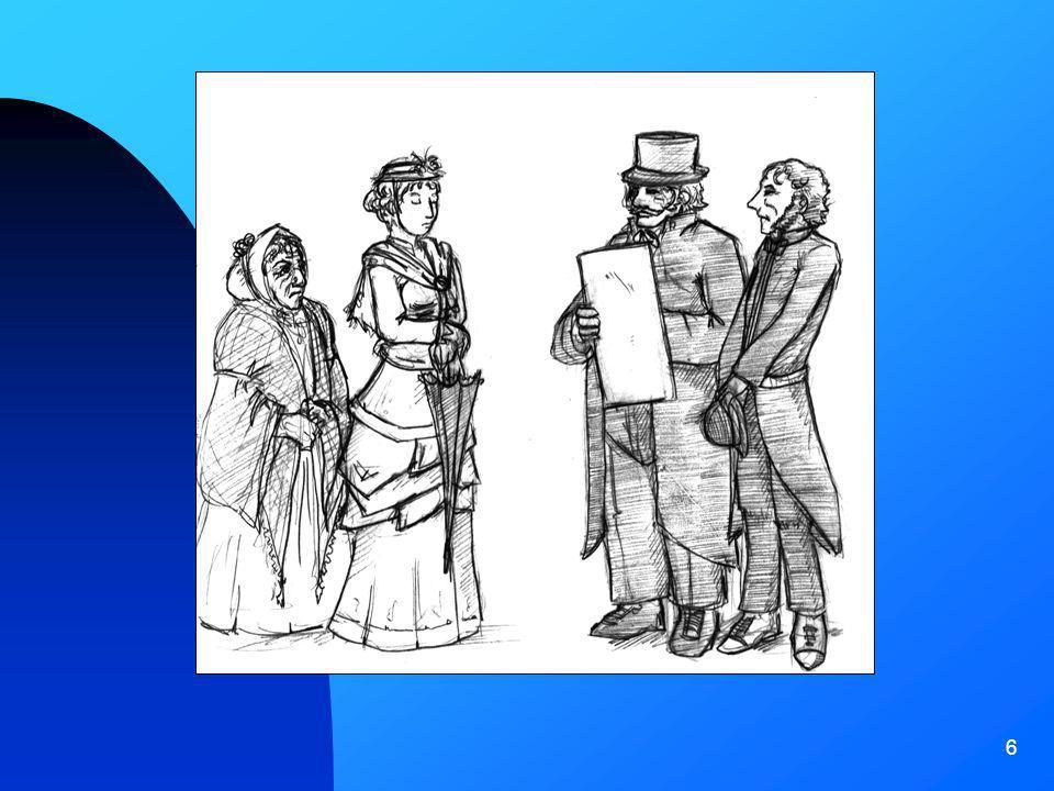 7 Tra lOttocento e il Novecento si aprono per le donne nuovi fronti di lavoro; appaiono così le commesse dei grandi magazzini, le impiegate nelle poste e nei telegrafi e la figura della maestra.