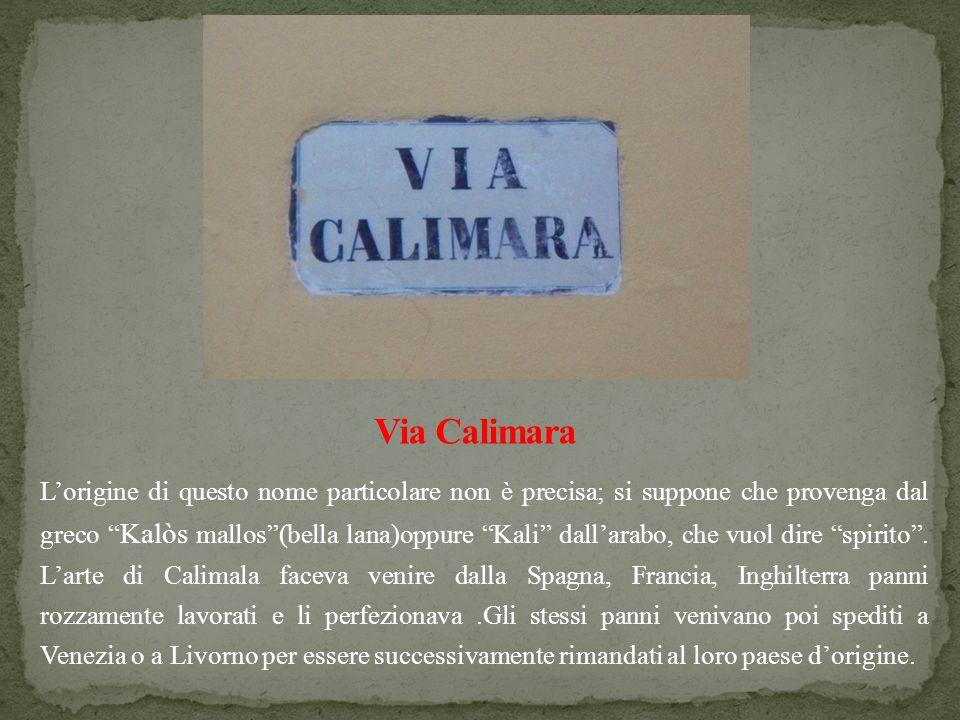 Lorigine di questo nome particolare non è precisa; si suppone che provenga dal greco Kalòs mallos(bella lana)oppure Kali dallarabo, che vuol dire spir