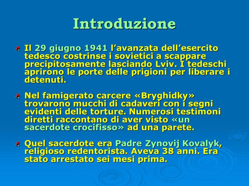 Un predicatore appassionato Immediatamente prima delloccupazione sovietica di quella regione, si trasferì a Lviv e per un po di tempo visse nella casa redentorista di san Clemente in via Zyblykevyč (oggi via Ivana Franka).