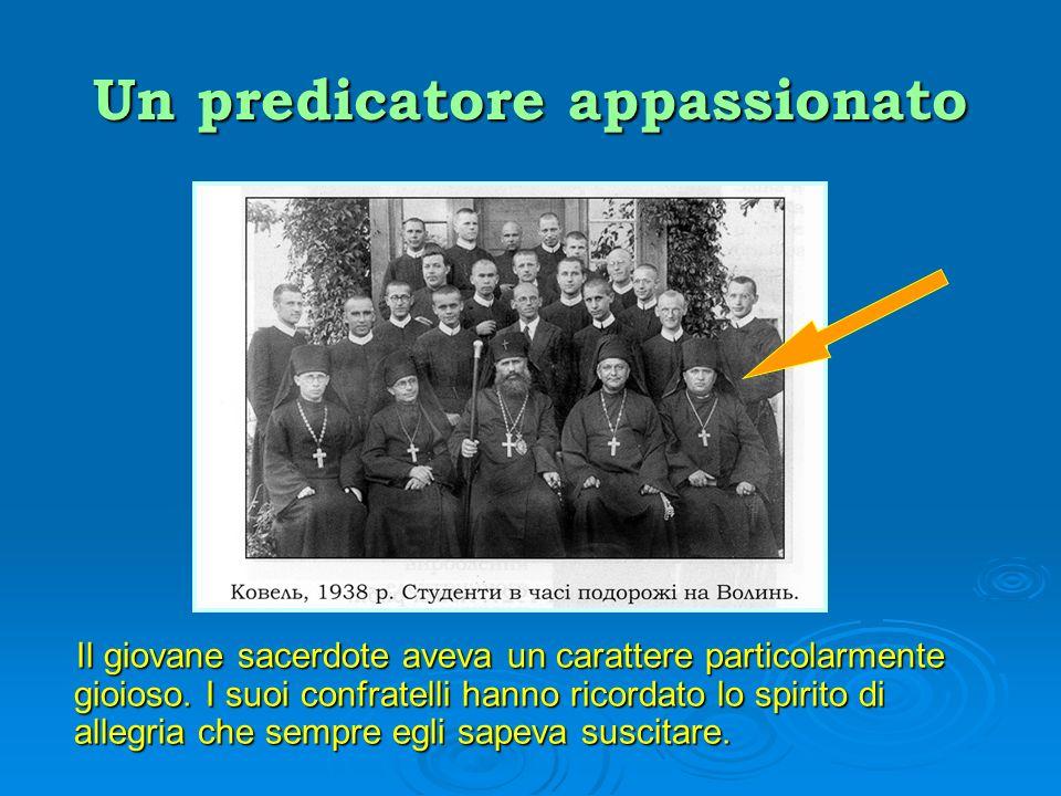 Un predicatore appassionato Era considerato insuperabile come predicatore nelle missioni popolari.