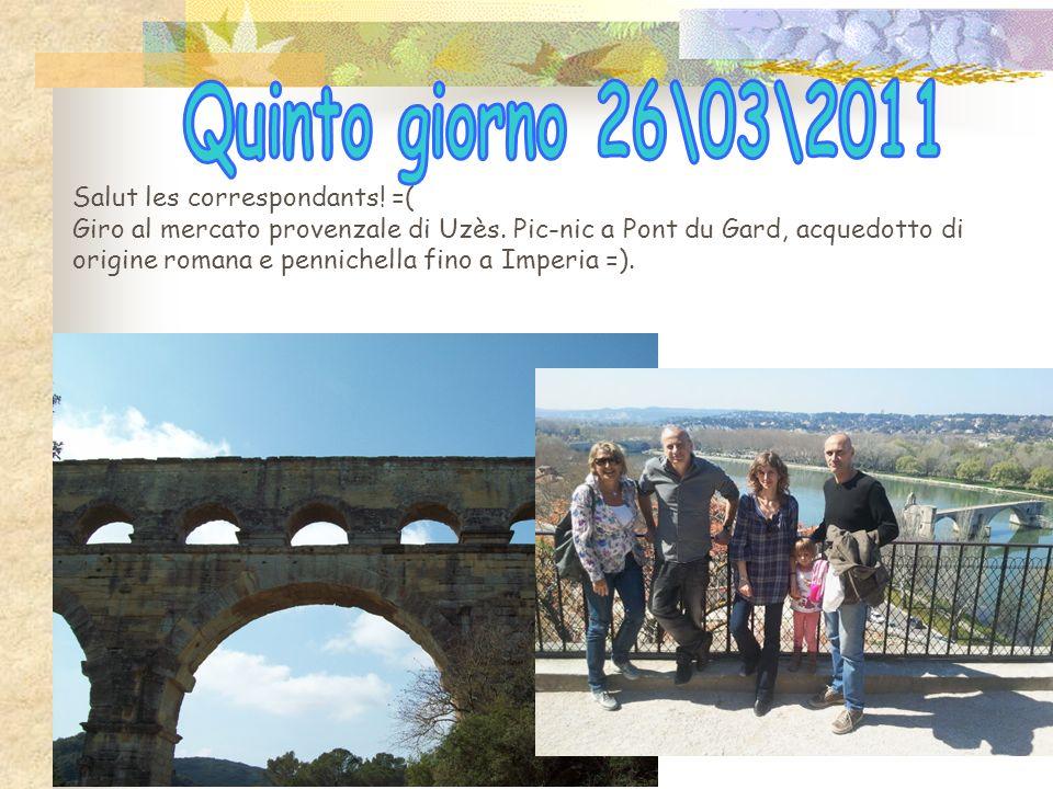 Arrivo a Nimes, città di origine greco-romana. Visita allArena con esibizione dei gladiatori. Dopo il pranzo, film in 3D nella Maison Carrée e passegg