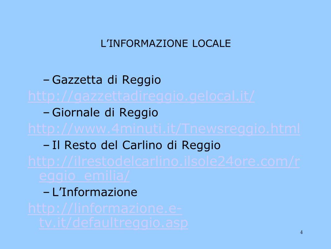 5 LE RIVISTE Femminili –http://www.donnamoderna.com/http://www.donnamoderna.com/ –http://www.marieclaire.it/http://www.marieclaire.it/ Maschili –http://www.menshealth.it/http://www.menshealth.it/ –http://lescienze.espresso.repubblica.it/http://lescienze.espresso.repubblica.it/ Per andare oltre http://www.ipse.com/