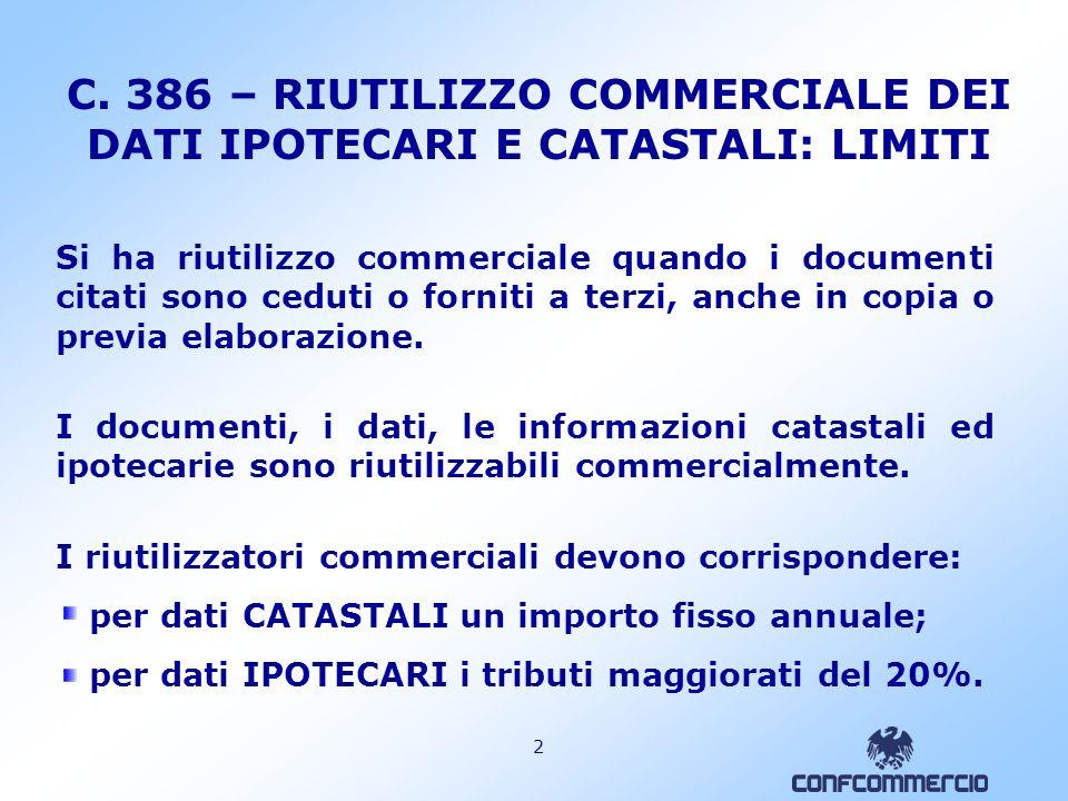 1 C. 46 - 47 – AGENTI IMMOBILIARI Gli agenti immobiliari sono SOLIDALMENTE tenuti al pagamento dellimposta per le scritture private non autenticate di