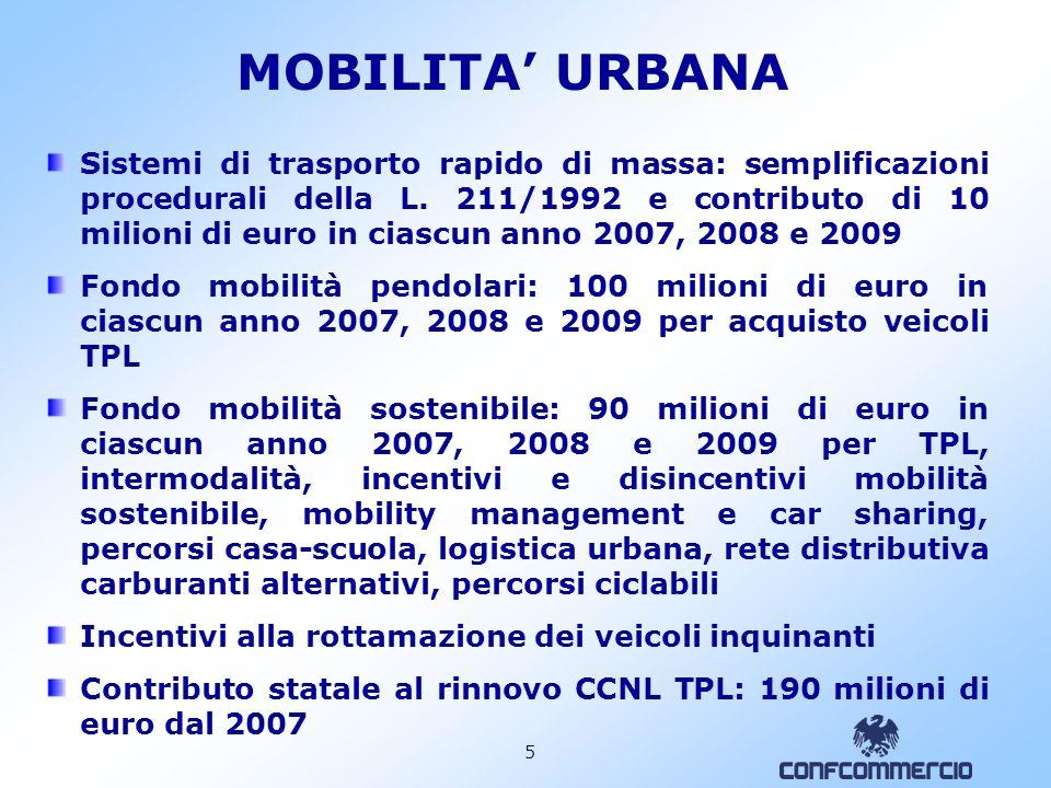 4 FILIERA MARITTIMO PORTUALE 2 Piano e contributo per lo sviluppo degli hub portuali di interesse nazionale: 100 milioni di euro nel 2008 Liberalizzaz