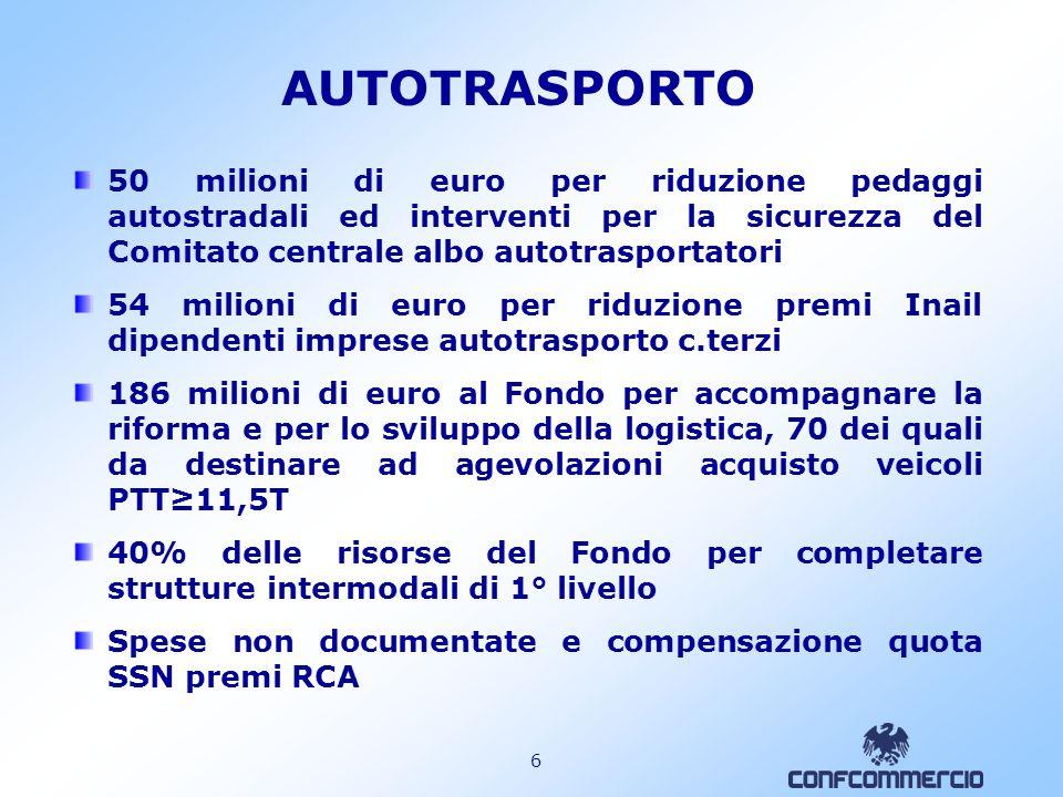 5 MOBILITA URBANA Sistemi di trasporto rapido di massa: semplificazioni procedurali della L. 211/1992 e contributo di 10 milioni di euro in ciascun an