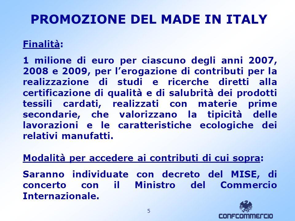 4 PROMOZIONE DEL MADE IN ITALY 936.