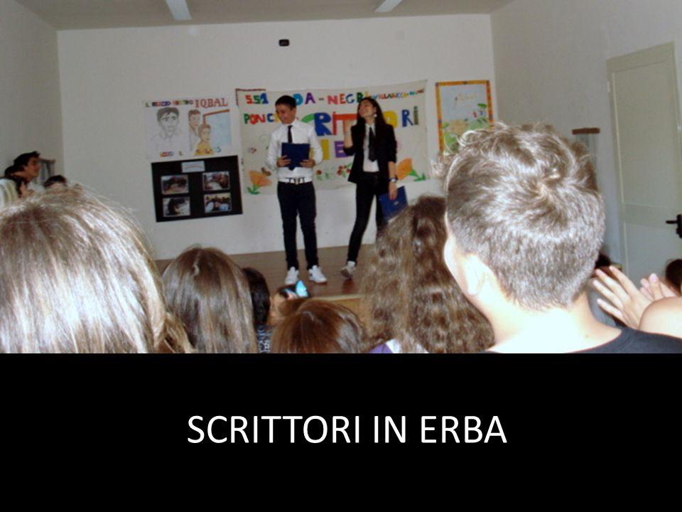 SCRITTORI IN ERBA
